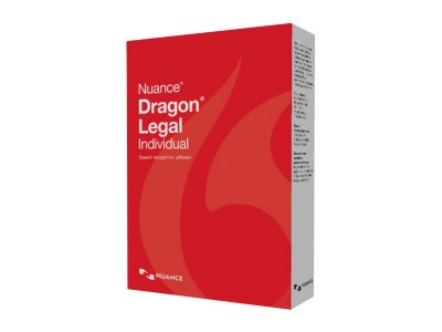 Nuance Dragon NaturallySpeaking 14.0 Legal Individual Upg from Legal Prem 12.x-13.x English Brown Bag
