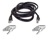 Belkin CAT5e Snagless Patch Cable, Black, 14ft
