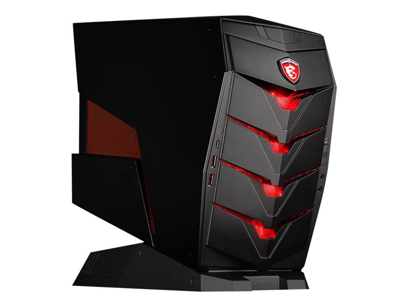 MSI Aegis-050US Tower Core i5-6400 8GB 1TB GTX1070 DVD W10, Black, AEGIS-050US