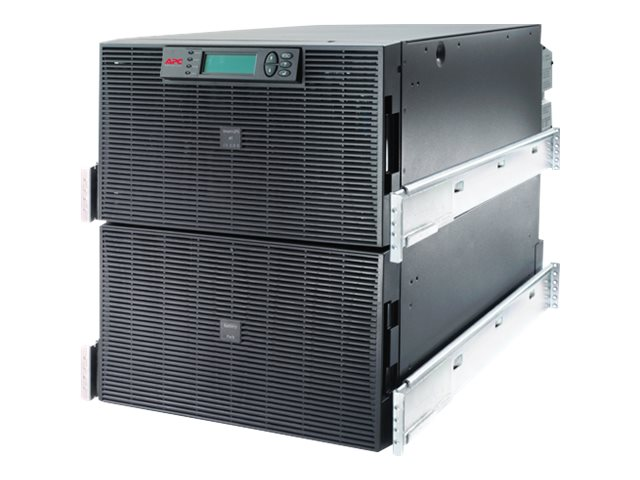 APC Smart UPS RT 15kVA 12kW, 12U RM, 208V Input Output, (7) Outlets, SURT15KRMXLT, 10009800, Battery Backup/UPS