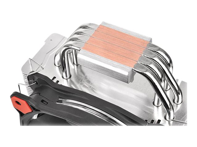 Thermaltake Riing Silent 12 CPU Cooler, Red, CL-P022-AL12RE-A