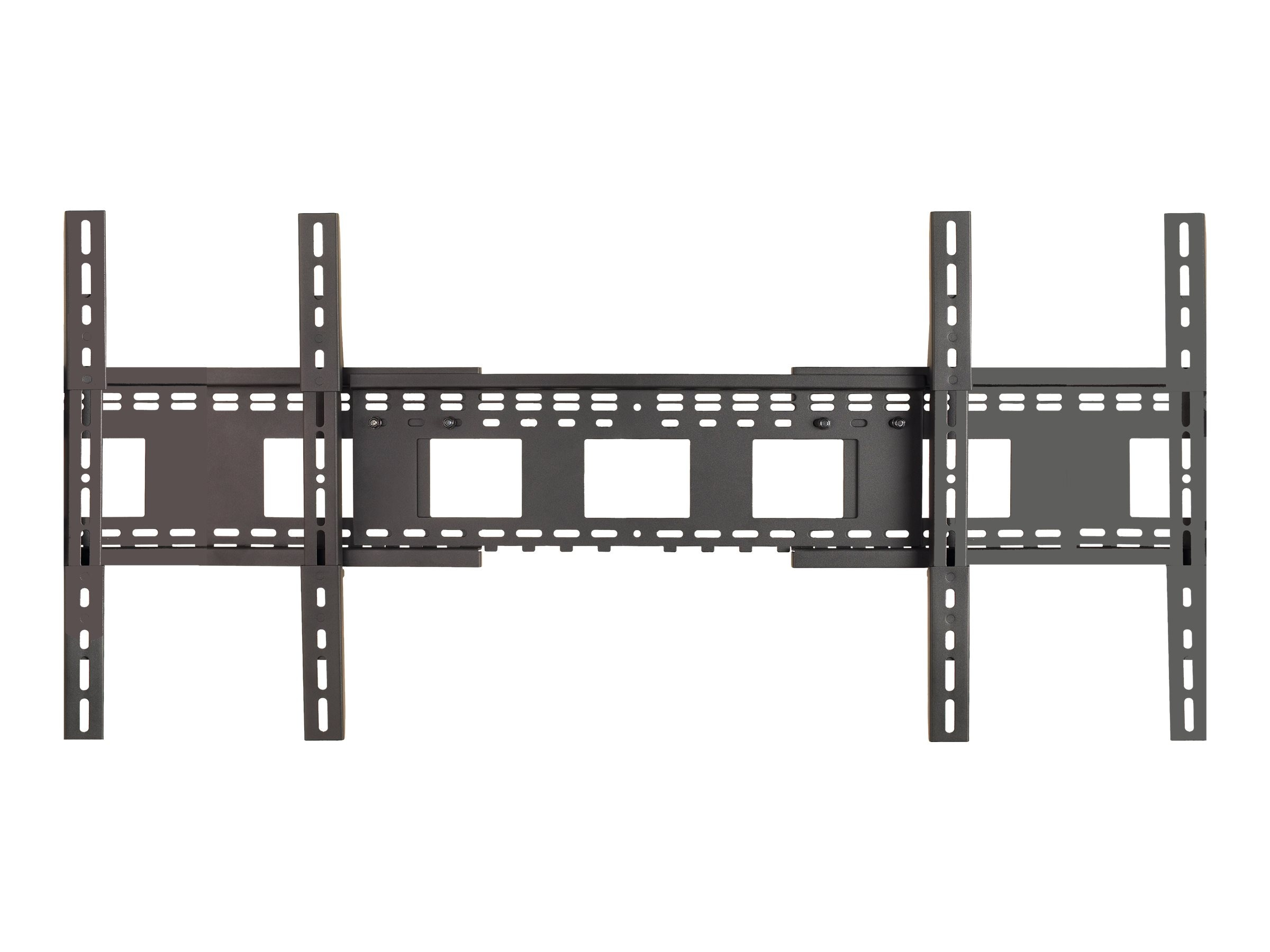 Avteq Universal Wall Mount for Dual Displays up to 70, Black