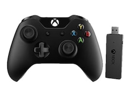 Microsoft XBOX ONE CTLR WRLS ADPTR WIN10 WRLSEN FR US CANADA HW, NG6-00001, 31146766, Computer Gaming Accessories