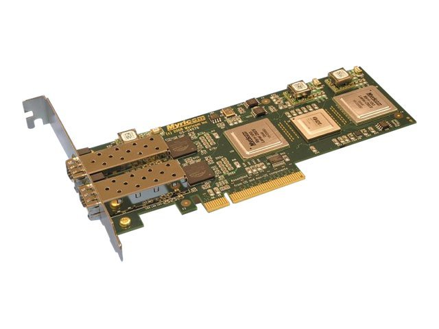Myricom 2-Port 20Gb s PCIE Add-in Card PCI Gen 2.0, 10G-PCIE2-8B2-2S, 17326058, Network Adapters & NICs