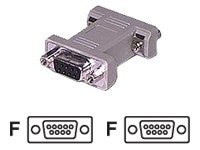 C2G DB9 F-F Gender Changer, 02769, 6158984, Adapters & Port Converters