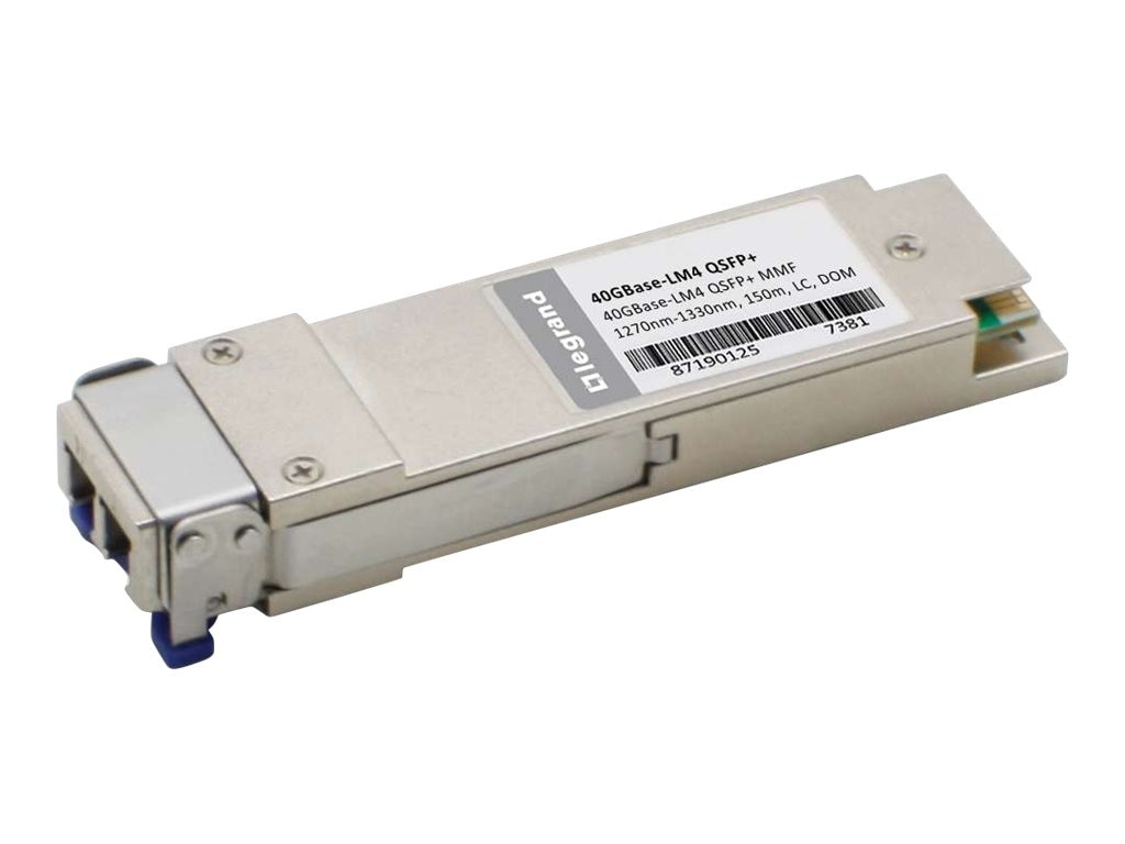 C2G Dell 407-BBRC Compatible 40GBase-LM4 QSFP Transceiver