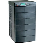 Eaton 9170+ 6-Slot Enclosure, Hardwire Input, (8) 5-20R Outlets, Black