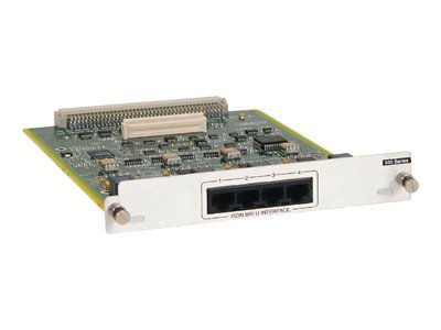 Adtran Atlas 550 Quad BRI Module 4 ISDN U Interfaces, 1200315E1, 7553804, Multiplexers