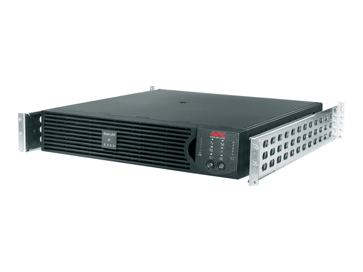 APC Smart-UPS On-Line RT 2200VA 1600W 120V 2U 5-20P 6ft Cord (6) 5-15R Outlets, SURTA2200RMXL2U