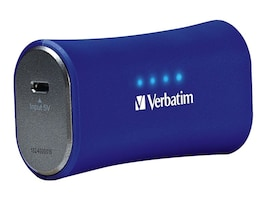 Verbatim Power Pack Charger 2200mAh Li-Ion Battery for iPhone, 98358, 34196566, Batteries - Other
