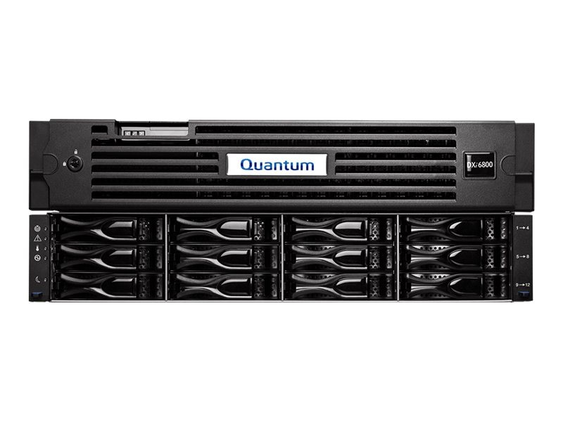 Quantum DXi6802 Disk Deduplication Appliance, 13TB Usable Capacity w  CoD, Non-TPM (Restricted Countries), DDY68-CR02-013C, 16598545, Disk-Based Backup