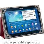 Griffin Passport for Ereader Tablet S M, Red Gray
