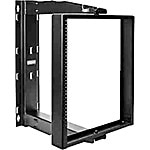 Hoffman PIVOTRACK Center Pivoting Rack Frame 12U, Black, E19SWMC12U24, 16229521, Racks & Cabinets