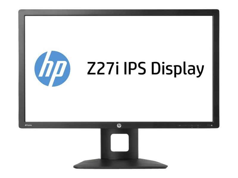 HP 27 Z27i LED-LCD Monitor, Black, D7P92A4#ABA, 16635941, Monitors - LED-LCD