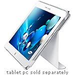 Samsung Book Cover Case for ATIV Tab 3, 10.1, White