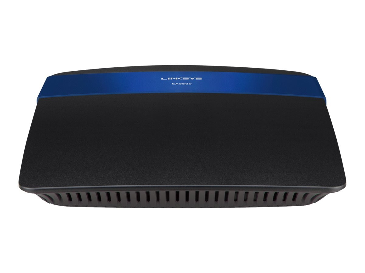 Linksys Dual-Band N750 Router with Gigabit and USB, EA3500-NP, 16439018, Network Routers