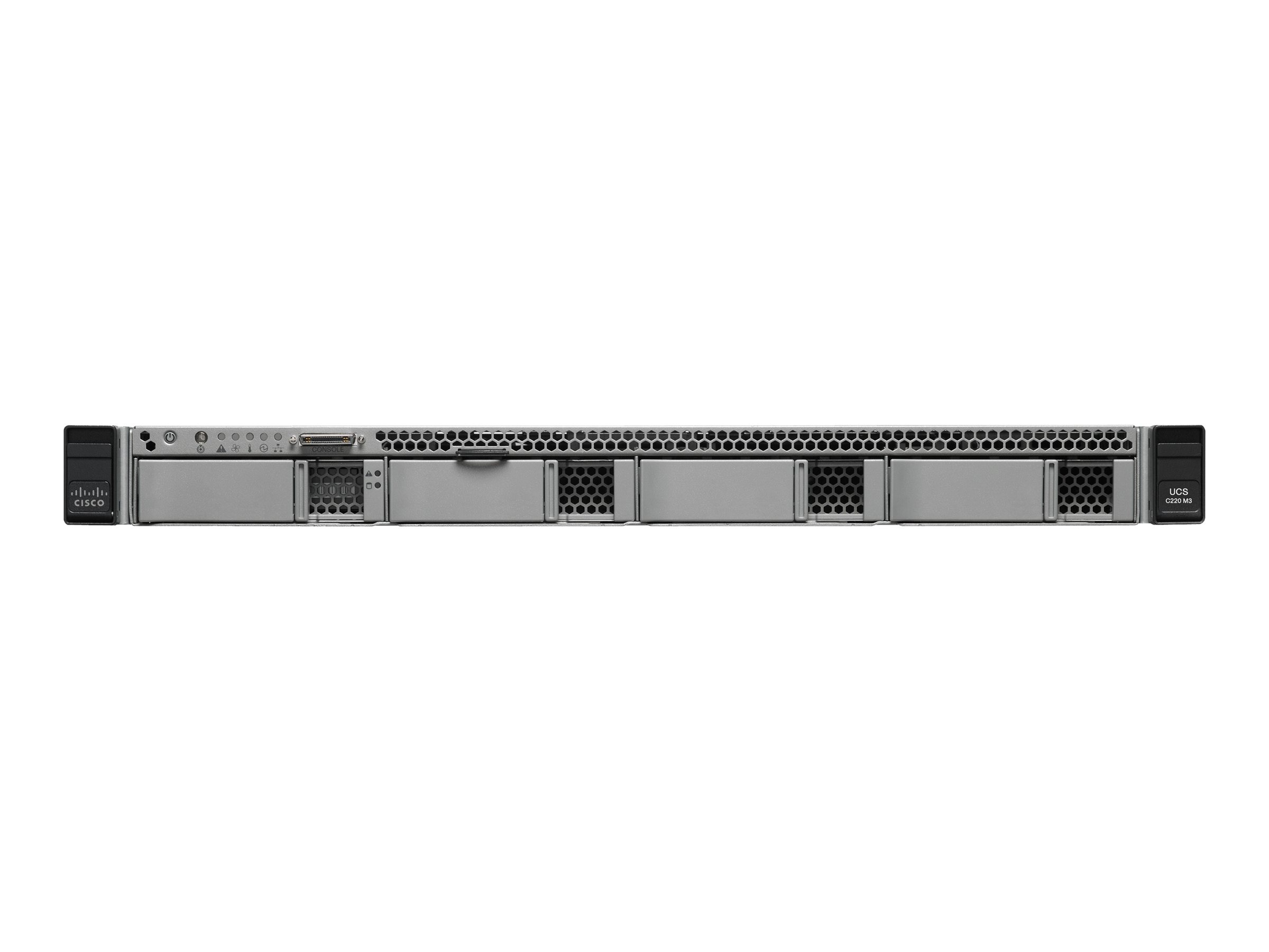Cisco Connected Safety and Security UCS C220 1U RM Xeon E5-2609 8GB 4x3.5 Bays, CPS-UCS-1RU-K9