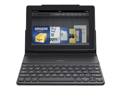 Belkin QODE Portable Keyboard Case for Kindle Fire 7 HD HDX, F5L164QTTBLK