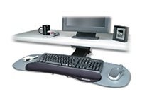 Kensington Underdesk Adjustable Keyboard Platform, K60067, 9978427, Cart & Wall Station Accessories