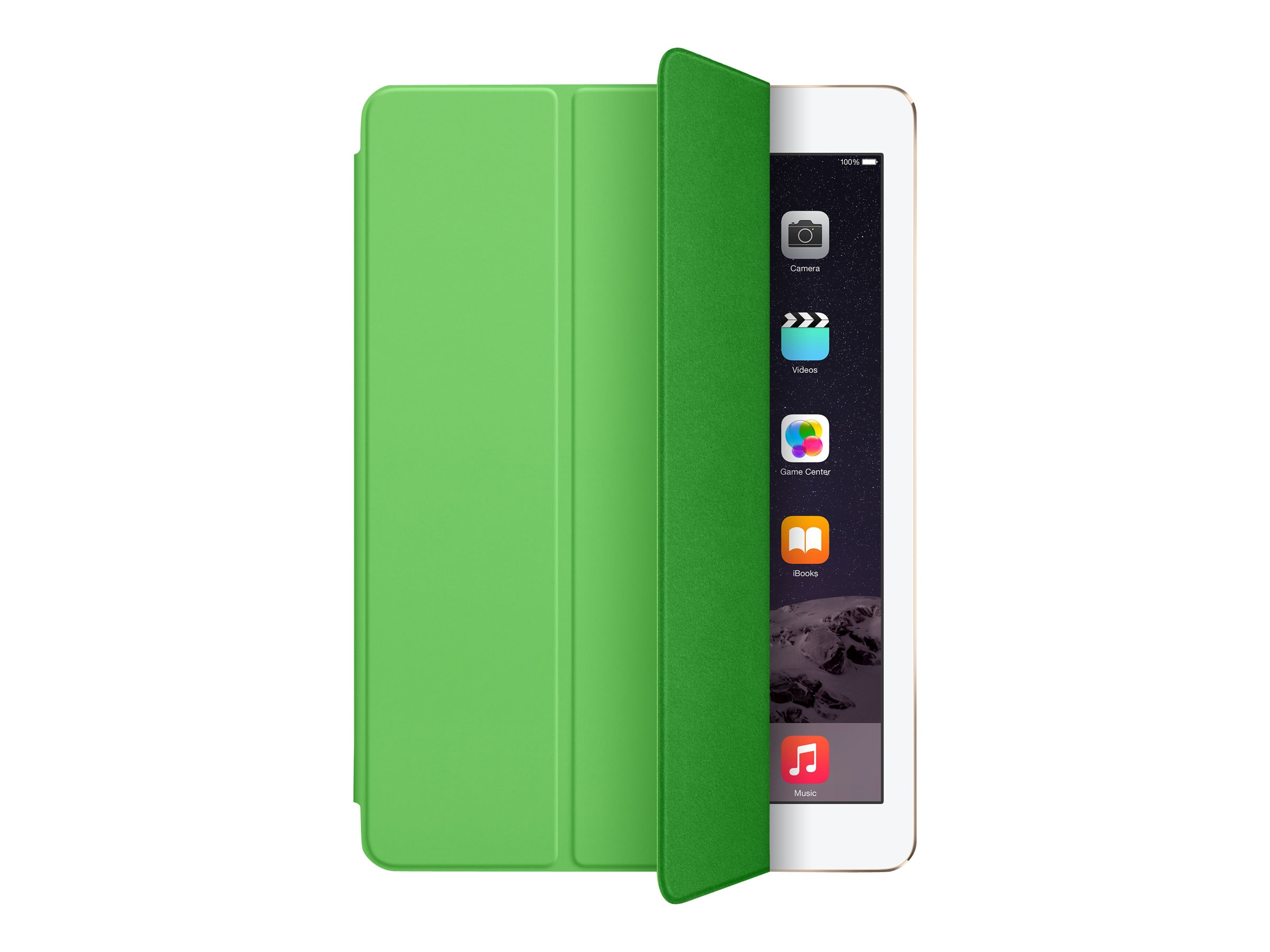 Apple iPad Air Smart Cover, Green, MGXL2ZM/A, 17959752, Carrying Cases - Tablets & eReaders