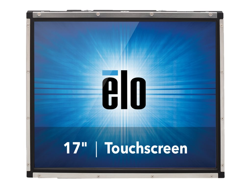 ELO Touch Solutions 1739L 17 LCD LED Backlight Open Frame VGA & DVI Video