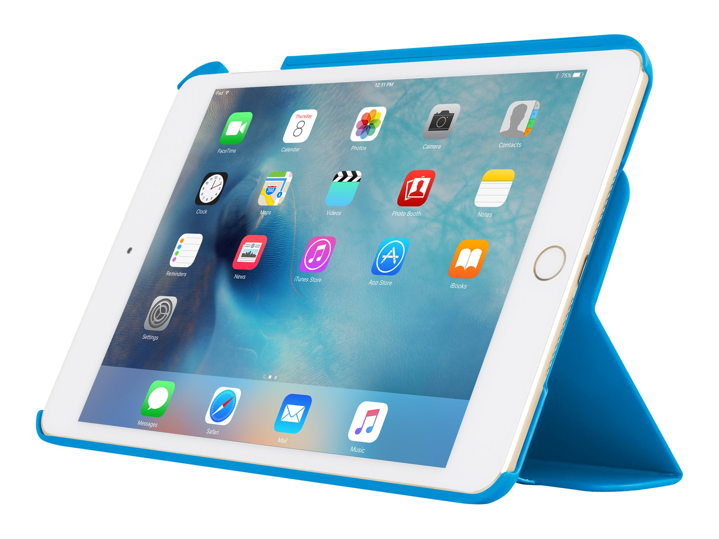 Incipio Tuxen Snap-On Folio w  Magnetic Closure for iPad mini 4, Blue