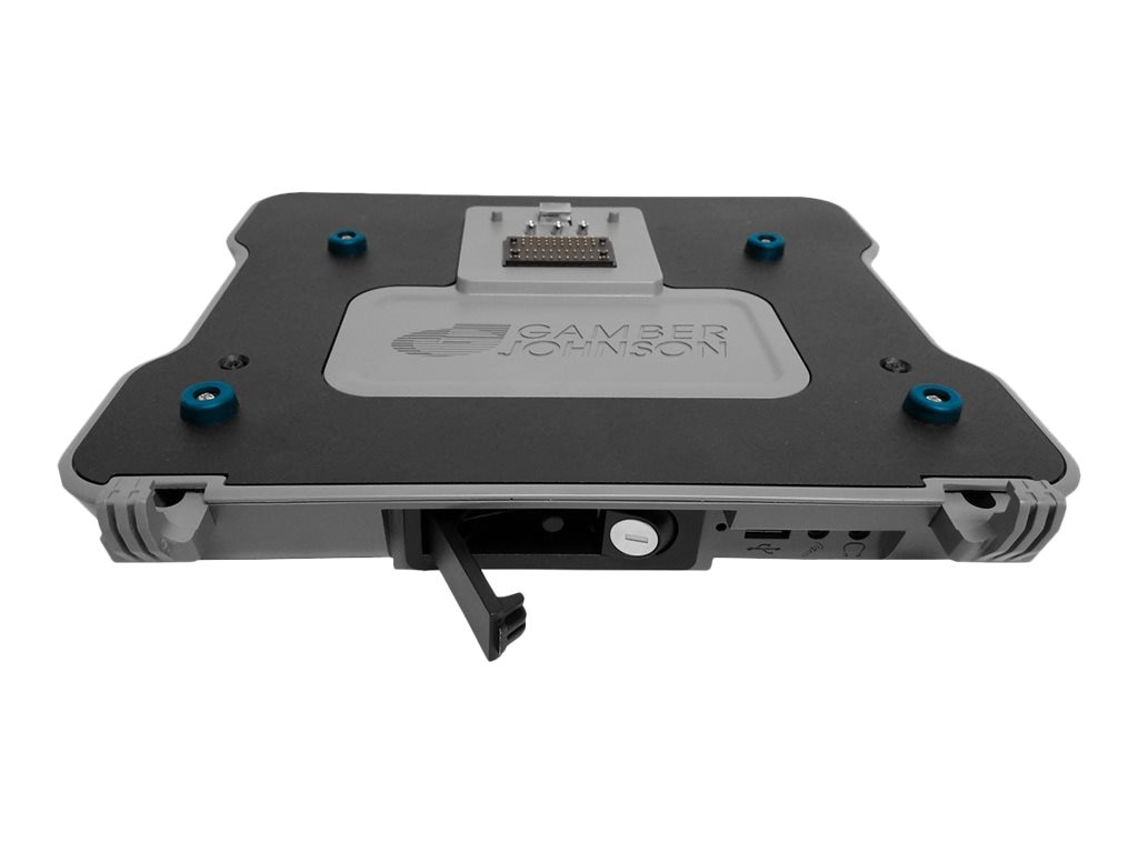 Gamber-Johnson Vehicle Laptop Docking Station for Latitude with 90W Power Supply (Tri RF)