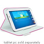 Logitech Folio Protective Case for Samsung Galaxy Tab 3 7.0, Fantasy Pink