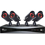 Night Owl 4-Channel 960H Video Security Kit with 500GB Hard Drive & 4 Hi-Resolution Indoor Outdoor Cameras, P-45-4624N, 16522823, Security Hardware