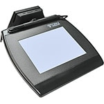 Topaz SignatureGem LCD 4x5 USB Backlit w  MSR, TM-LBK766SE-HSB-R, 16582156, Signature Capture Devices