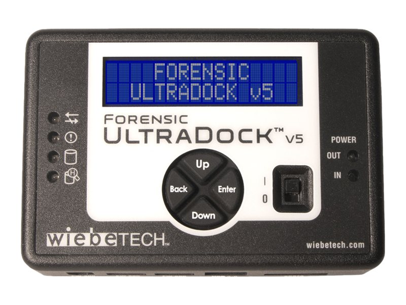wiebeTECH Forensic UltraDock V5 (UK Version), 31351-3209-0000