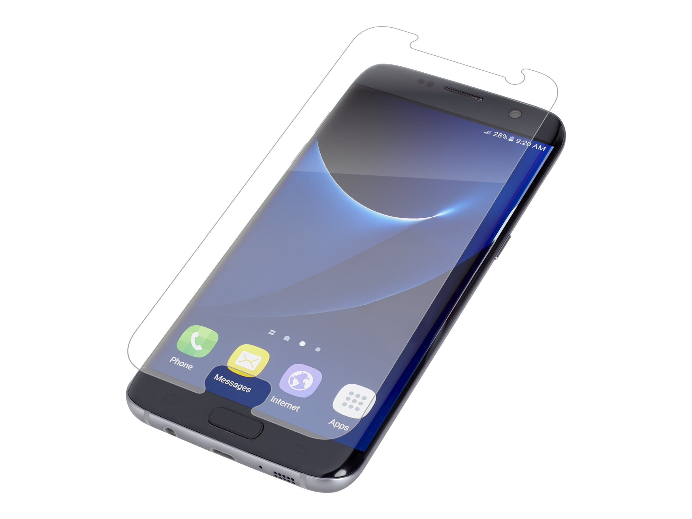 Zagg invisibleSHIELD Screen Protector Clear, G7EOWS-F00
