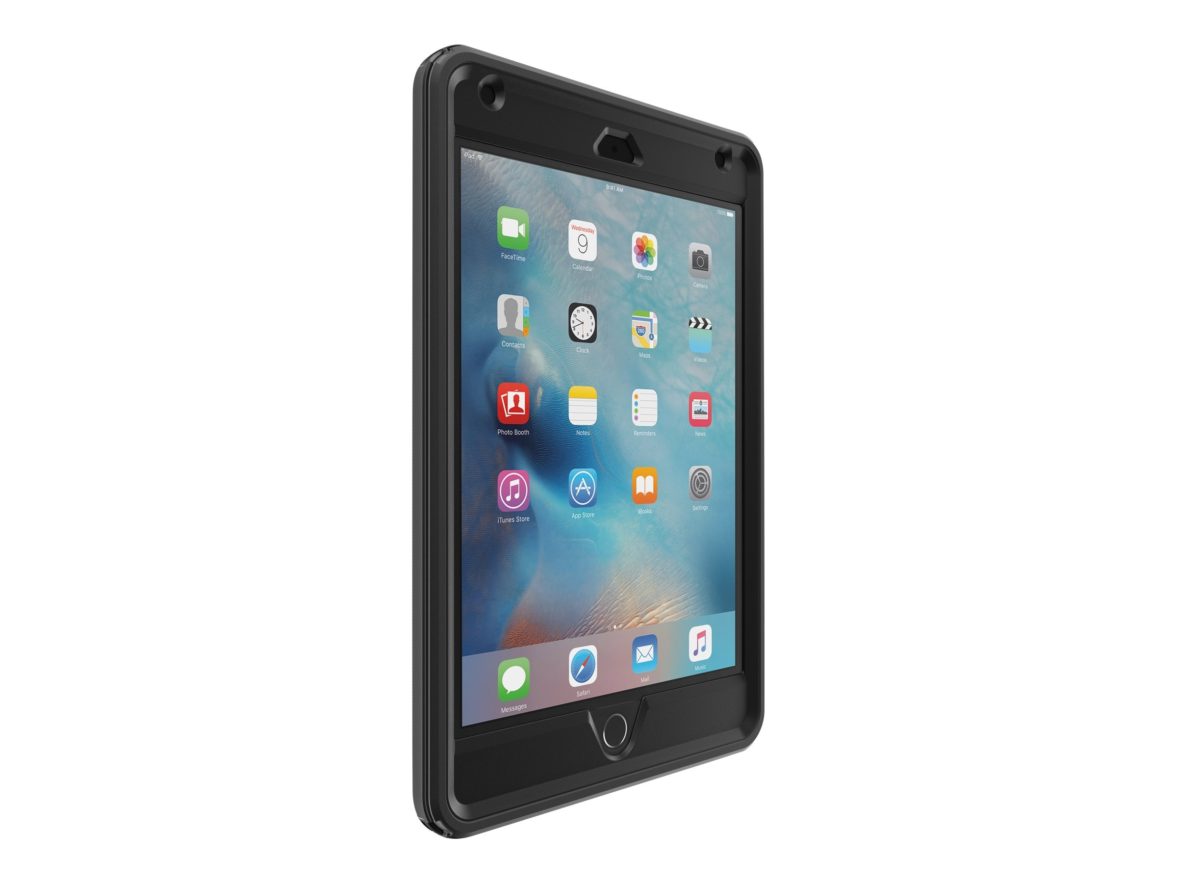 OtterBox Defender Folio for iPad mini 4 Pro Pack B2B, Black, 77-52828, 30861881, Carrying Cases - Tablets & eReaders