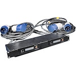 Panduit Rack Energy Kit 16: Standard Kit plus 1 x Dual Link Box 30A 208V Single Phase NEMA L6-30P, L6-30R