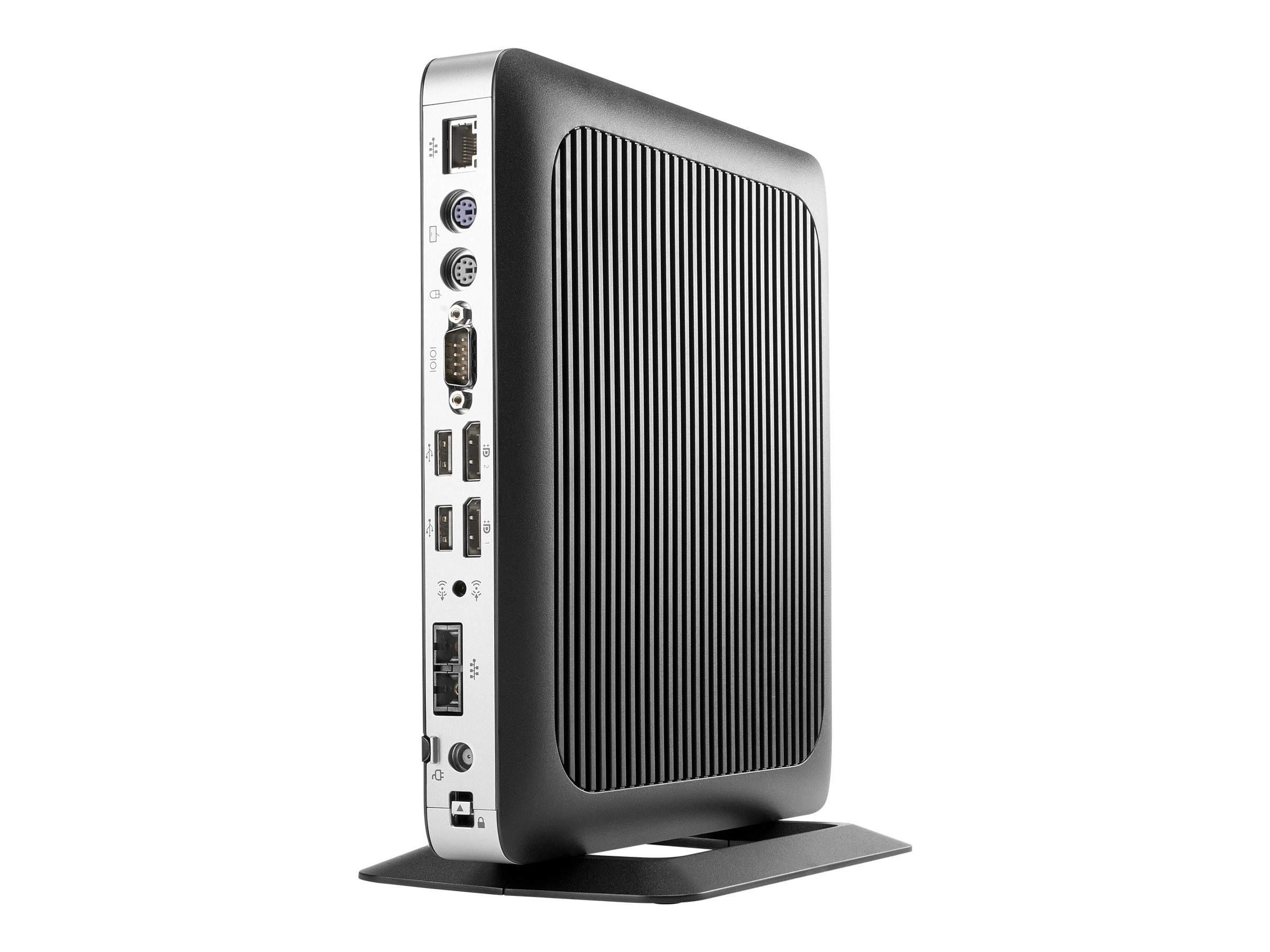 HP t630 Thin Client AMD GX-420GI 2.0GHz 4GB 16GB Flash R6E GbE VGA WES7E, W5Z02UT#ABA