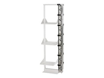 Black Box Double-Sided Premier Cable Manager, 84, 3 Channel, RM124