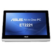 Asus ET2221AUTR AIO A8-5550M 2.1GHz 4GB 1TB DVD-RW GbE bgn WC 21.5 FHD MT W864, ET2221AUTR, 16701952, Desktops - All-in-One