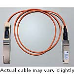 Cisco 40GBase-AOC QSFP direct-attach Active Optical Cable, 20m