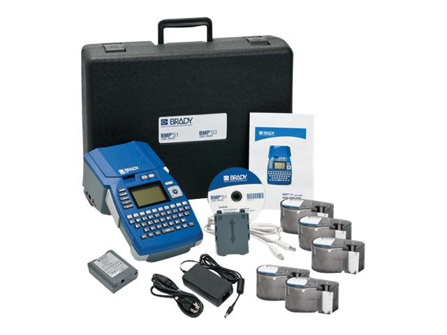 Brady Portable Label Printer Kit