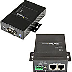 StarTech.com 1-Port Industrial RS-232 422 485 Serial-to-IP Ethernet Device Server, (2) 10 100Mbps Ports