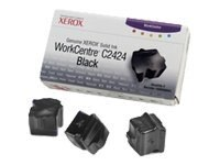 Xerox Black Solid Ink Sticks for WorkCentre C2424 Series (3-pack), 108R00663, 5741895, Toner and Imaging Components