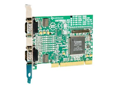 Brainboxes 2-port UPCI RS232 Standard Height Serial Card, UC-257-001, 14490961, Controller Cards & I/O Boards