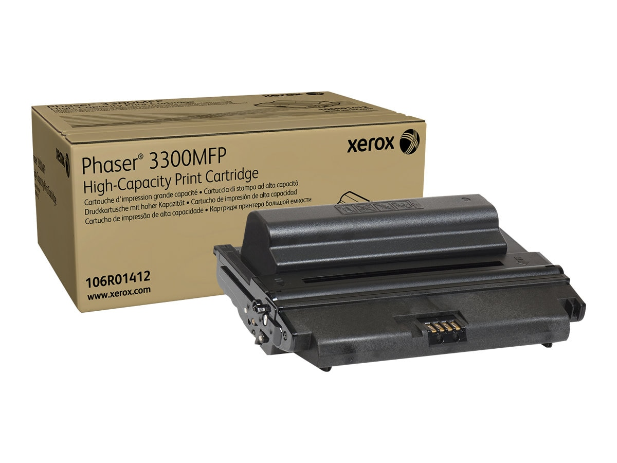Xerox High Capacity Toner Cartridge for Phaser 3300MFP, 106R01412