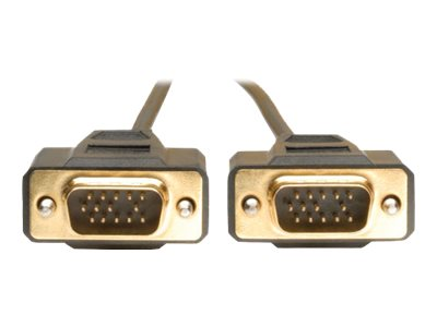 Tripp Lite Display Cable, Male 15 PIN HD D-Sub male 15 PIN HD D-Sub, 10 ft (P512-010), P512-010