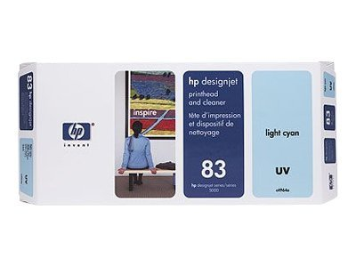 HP 83 Light Cyan UV printhead DesignJet 5000 & 5000ps, C4964A, 328179, Ink Cartridges & Ink Refill Kits