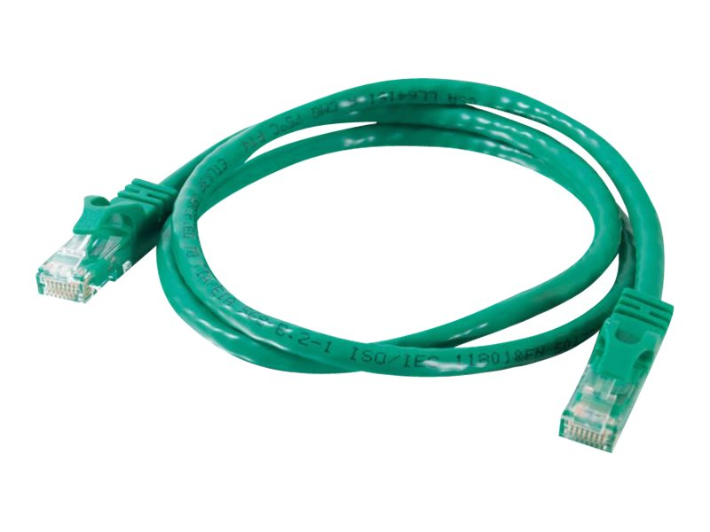 C2G Cat6 Snagless Unshielded (UTP) Network Patch Cable - Green, 75ft