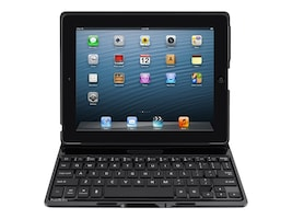 Belkin QODE Ultimate Keyboard Case for iPad 2 3 4, Black, F5L149TTBLK, 15579895, Keyboards & Keypads
