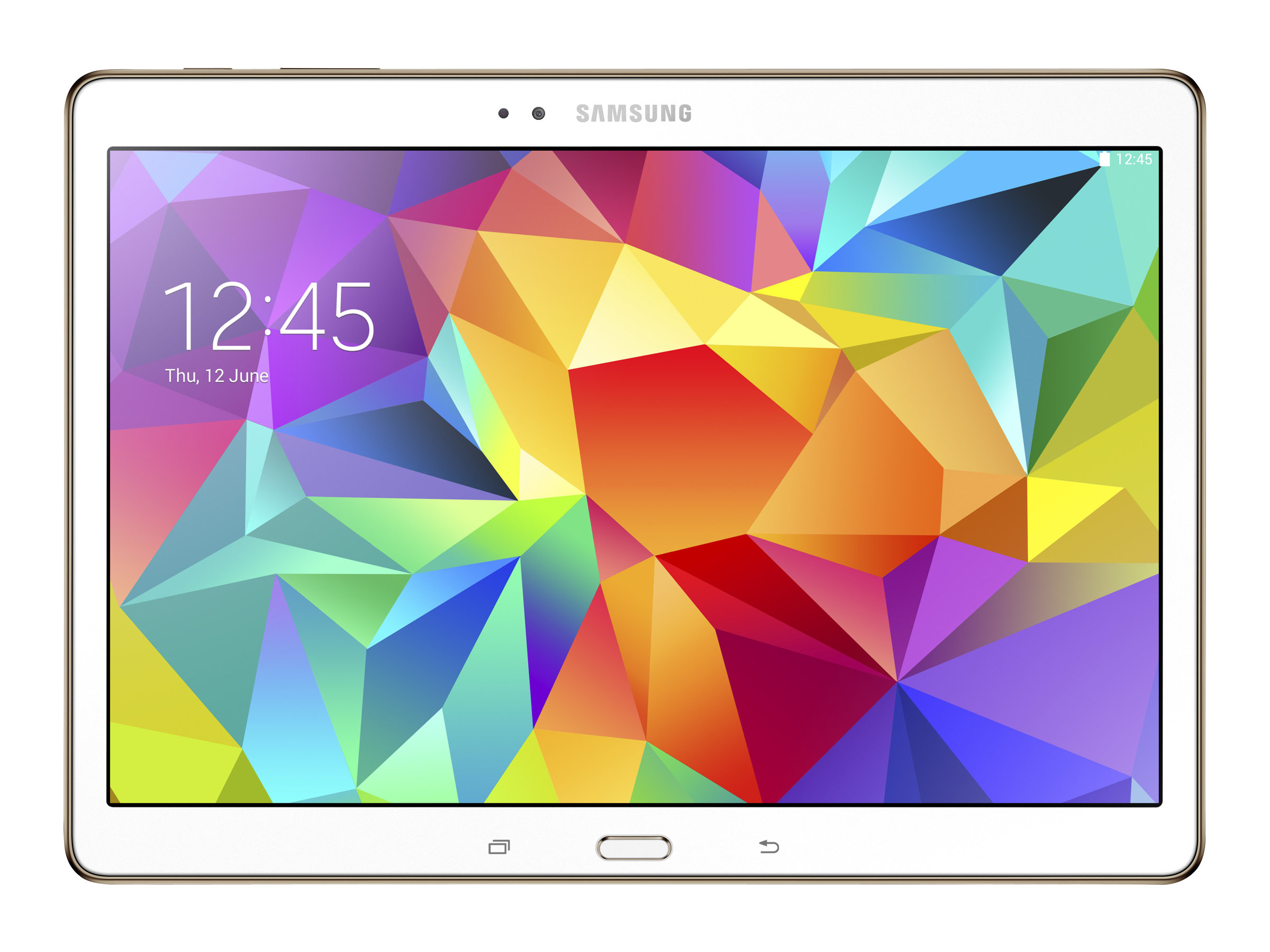 Scratch & Dent Samsung Galaxy Tab S 16GB Verizon 2xWC 10.5 Touch Android 4.4 White, SM-T807VZWAVZW, 30861258, Tablets