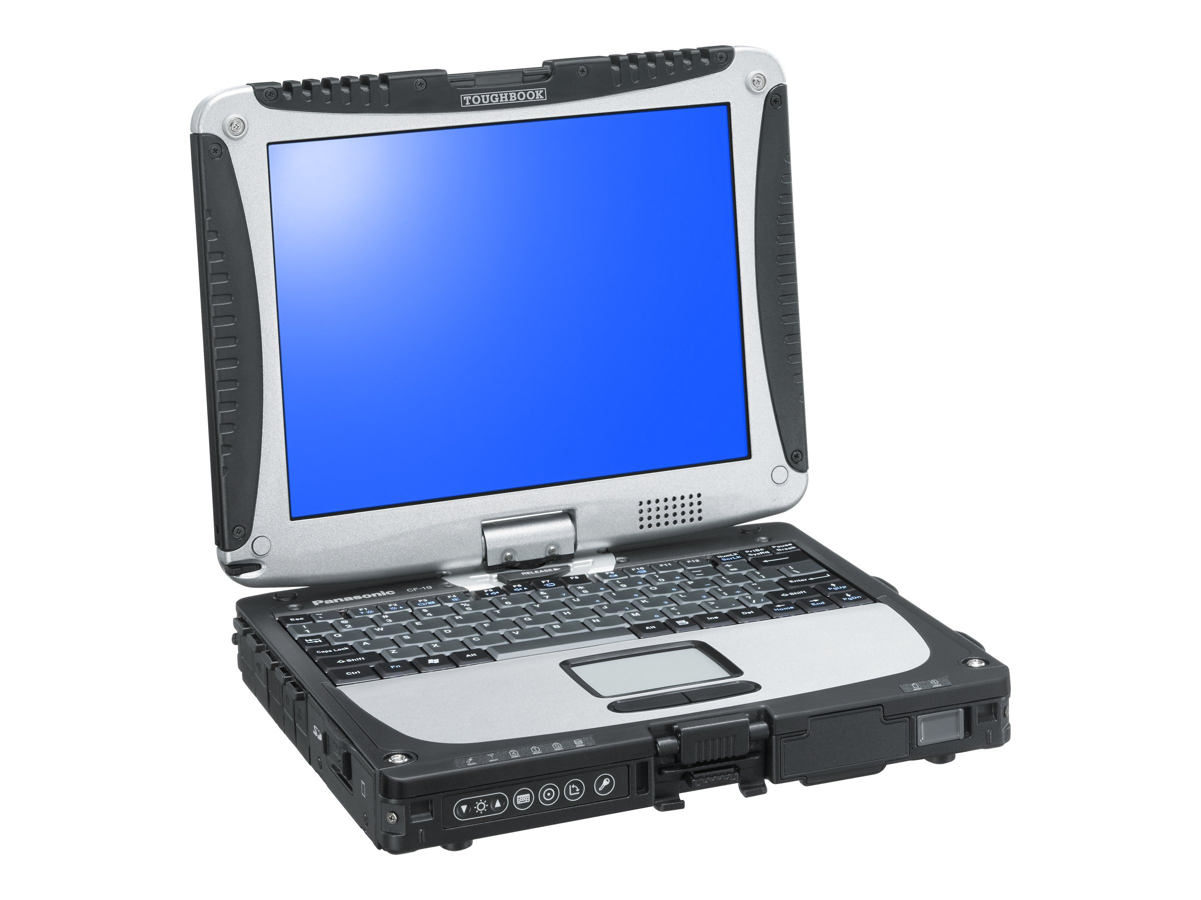 Panasonic Toughbook 19 vPro Core i5-3610ME 2.7GHz 10.1 XGA MT W7 (W8.1P COA), CF-19ZA363CM, 18496884, Notebooks - Convertible