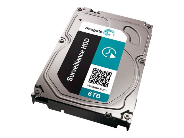 Seagate 6TB Surveillance SATA 6Gb s 3.5 Internal Hard Drive, ST6000VX0001